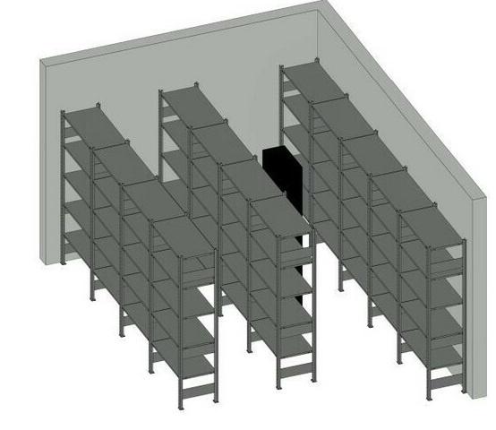 Regale planen in 3D